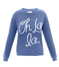 Oh La La Sweat Top by Zoe Karssen  #matchesfashion I want this!!