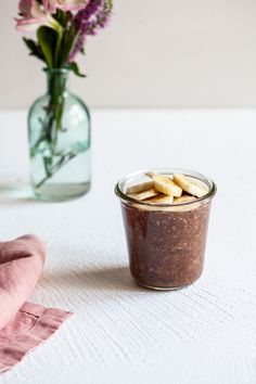 Banana Mocha Overnight Oats | The Full Helping