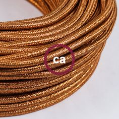 Copper Glittering Cloth Covered Wire - Vintage Lamp Cord - Antique Fan Cord **Free Same Day Shipping** Suitcase Display, Bracelet Wrap, Lamp Cord, Gaines, Phonograph, Vintage Lamps, Copper Wire, Sparkle, Pendants