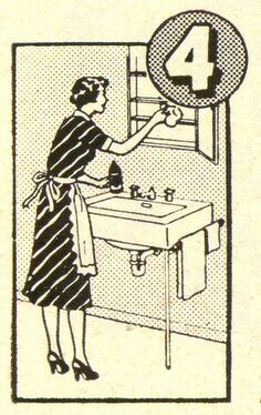 Mom's Busy Day, Part 4 ~ ca. 1952