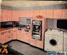 Vintage On Pinterest 1950s Bathroom 1960s Kitchen And 1950s Kitchen