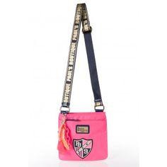 Paul's Boutique - Messenger Bag in Neon Pink