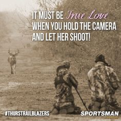 This is true. He does Love me. The first part of our trip to Kansas was just for me. He film my whole hunt, caught every emotion. Having him to share those moments with me can never be taken away!