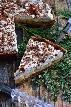 TARTA BANANOWO – DAKTYLOWA Sweet Recipes, Cake Recipes, Vegan Recipes, Cooking Recipes, Healthy Deserts, Cupcake Cookies, Cupcakes, Sweet Cakes, Bon Appetit