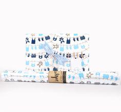 Inky Co.'s Clothesline 4 Boys roll wrap