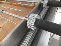 DIY Rack and Pinion Rotisserie