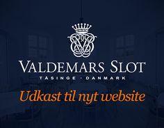"""Check out new work on my @Behance portfolio: """"Valdemars Slot - website"""" http://be.net/gallery/53231541/Valdemars-Slot-website"""