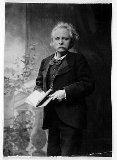 Edvard Grieg (from the Bergen Public Library)