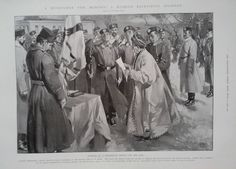 1904 PRINT MUSSULMAN RECRUITED FOR THE RUSSIAN ARMY - GRAHAM MORTON & Co,LEEDS