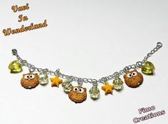 Guarda questo articolo nel mio negozio Etsy https://www.etsy.com/listing/222512122/owl-bracelet-gift-ideas-lucky-charm