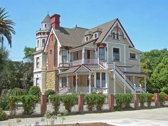 Victorian House in San Jose, California