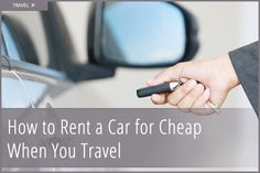 Great resources for car rentals!
