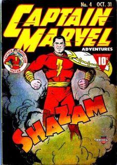 Captain Marvel Adventures Issue # 4 1941