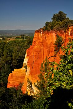 Sentier des ocres Roussillon