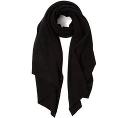 Cash Ca Black Cashmere Pashmina Scarf (2.585 DKK) ❤ liked on Polyvore featuring accessories, scarves, cashmere scarves, black shawl, cashmere shawl, black cashmere shawl and black scarves