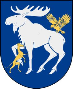 Jämtland vapen (coat of arms), Sweden i two weeks we will have our vacation there