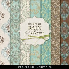 Sunday's Guest Freebies ~ Far Far Hill  ♥♥Join 3,900 people. Follow our Free Digital Scrapbook Board. New Freebies every day.♥♥