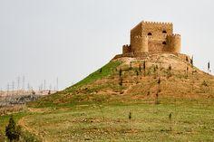 Khanzad Castle by tj.blackwell, via Flickr