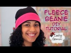 Make a fleece hat...super easy, fast, cheap and a great present!!