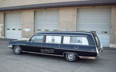 1963 Flxible Buick Combination Hearse