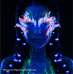 Find Portrait Beautiful Woman Body Art Glowing stock images in HD and millions of other royalty-free stock photos, illustrations and vectors in the Shutterstock collection. Uv Makeup, Dark Makeup, Halloween Contacts, Arcade Fire, Ultra Violet, Face And Body, Female Bodies, Body Art, Stock Photos