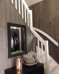 Interior Design Living Room, Interior Decorating, Entry Hallway, Cabin Interiors, Home Fashion, Farmhouse Style, New Homes, House Ideas, House Styles