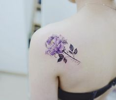 Purple peony by Banul