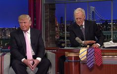 Mr. Letterman, 69, had an especially feisty relationship with Donald J. Trump, who had been a frequent guest and sparring partner since the 1980s. As an interview subject since becoming the Republican presidential nominee, Mr. Trump has since bedeviled hosts like Jimmy Fallon (who was criticized for going too easy on him) and Stephen Colbert (who acknowledges he should have been a tougher interrogator). But Mr. Letterman seemed to land some lasting hits on Mr. Trump