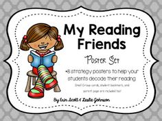 New Reading Friends Poster Pack