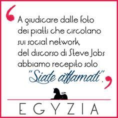 Messaggio ricevuto Steve.  #steveJobs #stayhungry #food #humor #social #piatti http://ift.tt/1Sw0YgR