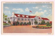 Hot Springs Country Club, vintage view