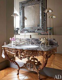 Repurposed Bathroom Vanity, Stylish Patina in Virginia & DC   Stylish Patina
