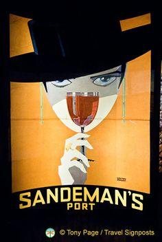 sandeman's porto Music, Artist, Portugal, Movie Posters, Geek, Travel, Illustrations, Wine, Spaces
