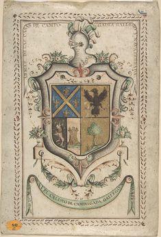 18th Century Armorial illustration