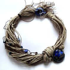 Would like this as a wreath not a necklace...