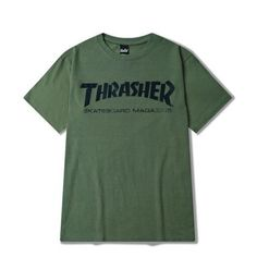 bf440580 Thrasher Tshirt, Thrasher Outfit, Simple Shirts, Cute Shirts, Adidas Shirt,  Tumblr
