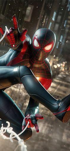 marvels spiderman miles morales 4k 2020 iPhone 11 Wallpapers