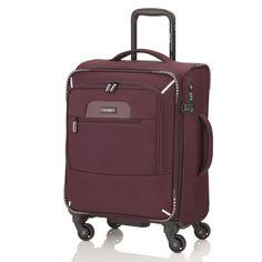 #Kabinentrolley travelite CrossLITE 3.0 bei Koffermarkt: ✓4 Rollen ✓leichtes  Weichgepäck  ✓IATA-konform  ✓Farbe merlot ⇒Jetzt kaufen