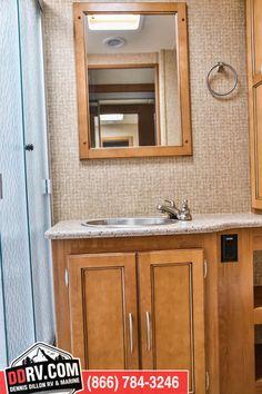 The bathroom inside 2016 Coachmen Mirada