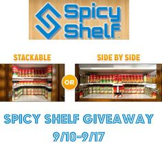 Spicy Shelf Giveaway 09/17 - Tales From A Southern Mom