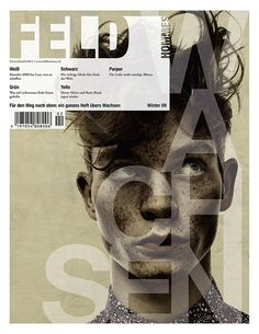 Feld Hommes | Cover Story by Per Zennström...freckles and wild man hair