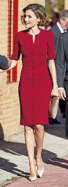 Letizia in Red