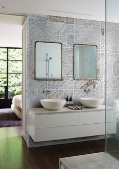 The Wallpaper Is Specific For Damp Environments Such As Bathrooms Wellness And Fitness Centres But It Also Suitable