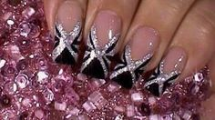 I found 'Black Tie Event Nail Art Design Tutorial' on Wish, check it out!