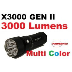 PowerTac X3000 Flashlight, 3000 lm * Read more reviews of the product by visiting the link on the image.