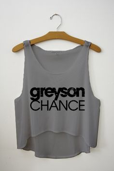 Greyson Chance Crop Top