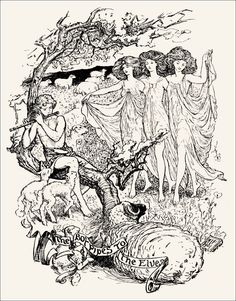 Mogarzea and his Son - The Violet Fairy Book by Andrew Lang, 1901