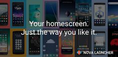 Nova Launcher is a strong customizable home screen replacement. Are you tired of staring at that non-welcoming Android home screen of yours? Nova Launcher, Tesla Coil, Screen Icon, Android Technology, App Drawer, Custom Icons, Old Phone, Android Apk