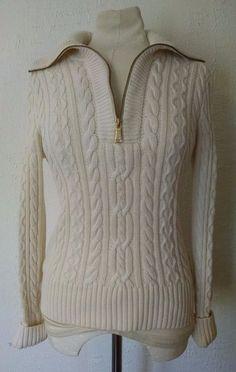 Chaps Ralph Lauren White Mock Turtleneck Sweater Size XX-Large ...