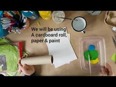 A fun and easy St. Patrick's Day arts and craft project for kids. Learn how to make your own stamps using cardboard rolls and create your own green shamrock. Craft Projects For Kids, Arts And Crafts Projects, Make Your Own Stamp, Create Your Own, Saint Patricks Day Art, Cardboard Rolls, Craft Corner, Painted Paper, Kids House